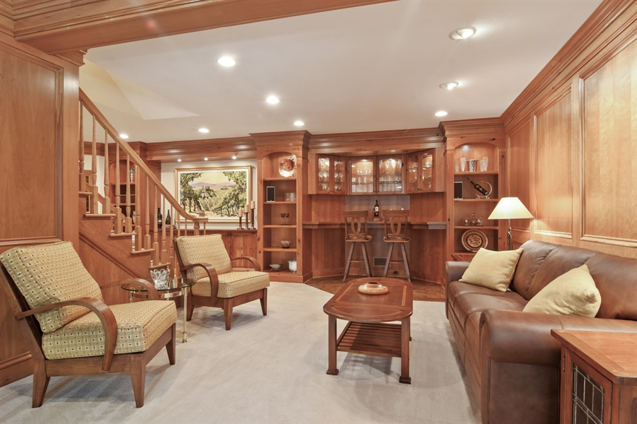 Real Estate Photography - 5443 Forrest Trail, Long Grove, IL, 60047 - Tasting Center