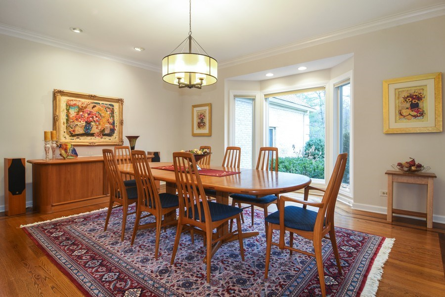 Real Estate Photography - 5443 Forrest Trail, Long Grove, IL, 60047 - New Dining Room 2