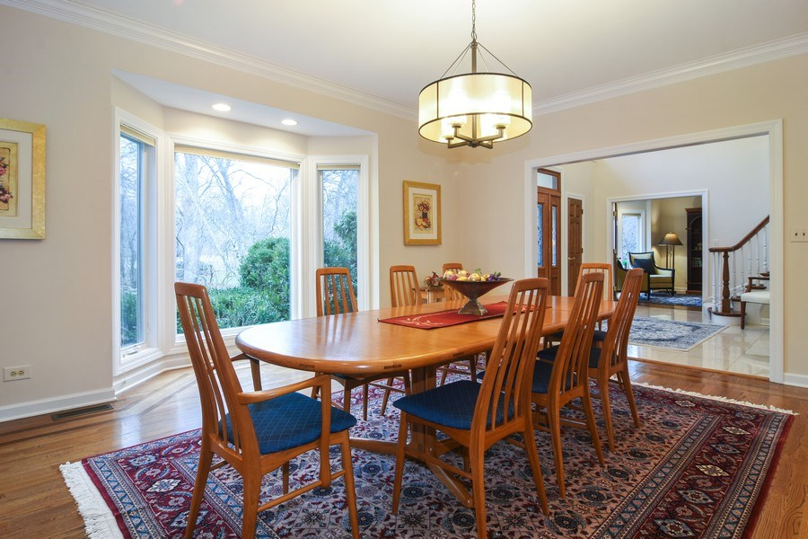 Real Estate Photography - 5443 Forrest Trail, Long Grove, IL, 60047 - New Dining Room