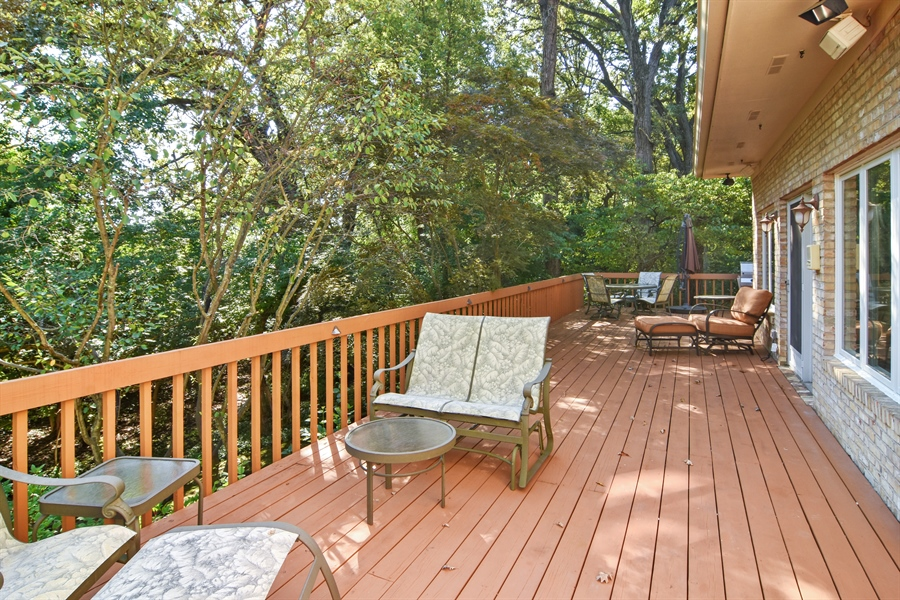 Real Estate Photography - 5443 Forrest Trail, Long Grove, IL, 60047 - Deck