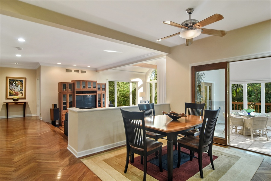 Real Estate Photography - 5443 Forrest Trail, Long Grove, IL, 60047 - Breakfast Nook