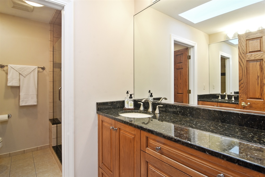 Real Estate Photography - 5443 Forrest Trail, Long Grove, IL, 60047 - 2nd Bathroom