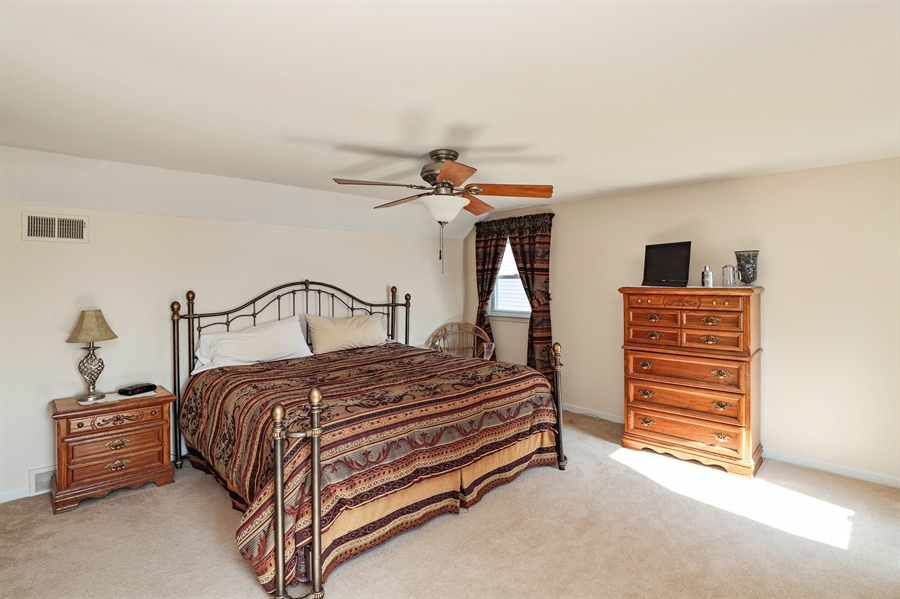 Real Estate Photography - 404 N Beck, Lindenhurst, IL, 60046 - Master Bedroom