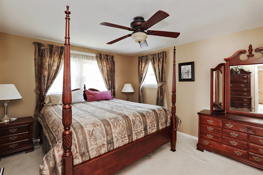 Real Estate Photography - 404 N Beck, Lindenhurst, IL, 60046 - 3rd Bedroom