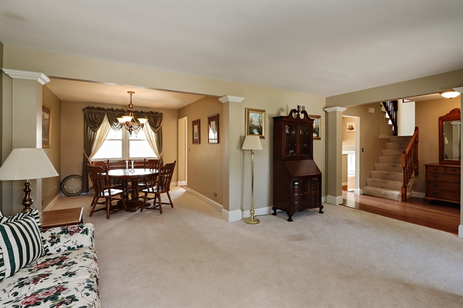 Real Estate Photography - 404 N Beck, Lindenhurst, IL, 60046 - Living Room