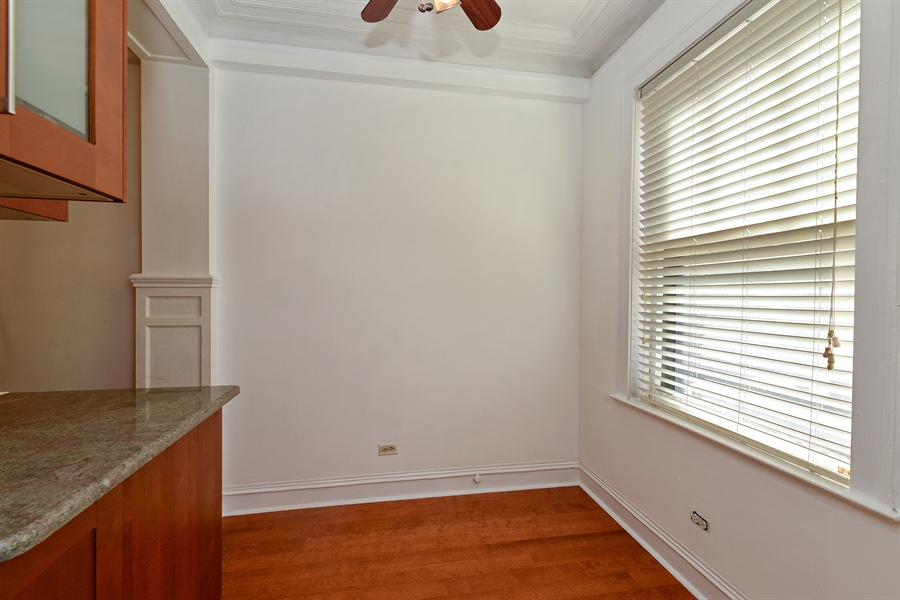 Real Estate Photography - 3602 N. Pine Grove Ave., 2C, Chicago, IL, 60613 - Dining Room
