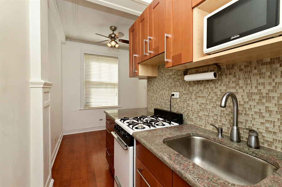 Real Estate Photography - 3602 N. Pine Grove Ave., 2C, Chicago, IL, 60613 - Kitchen / Dining Room