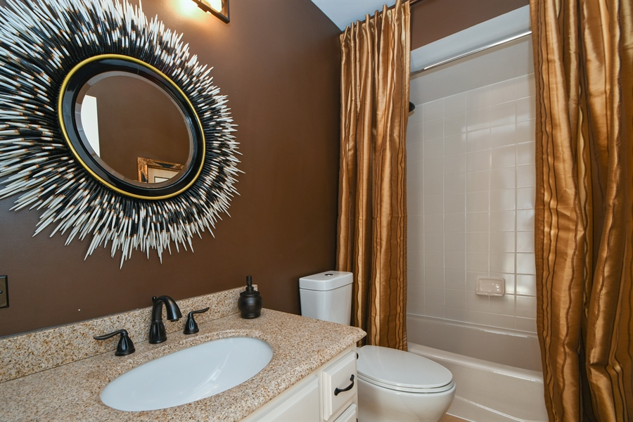 Real Estate Photography - 30 Golf View Lane, Frankfort, IL, 60423 - 3rd Bathroom