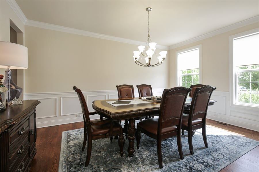 Real Estate Photography - 189 Trumpet Vine Cir., Elgin, IL, 60124 - Dining Room
