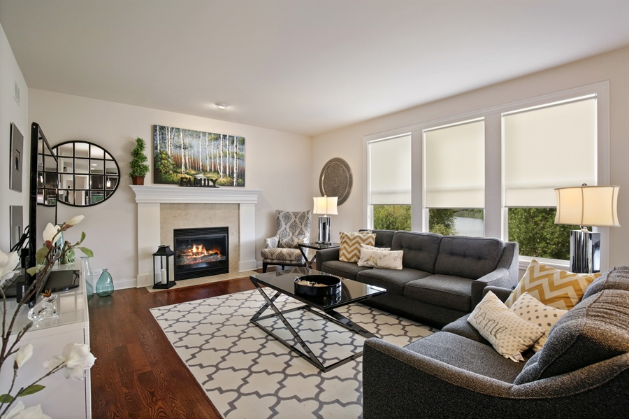Real Estate Photography - 189 Trumpet Vine Cir., Elgin, IL, 60124 - Family Room