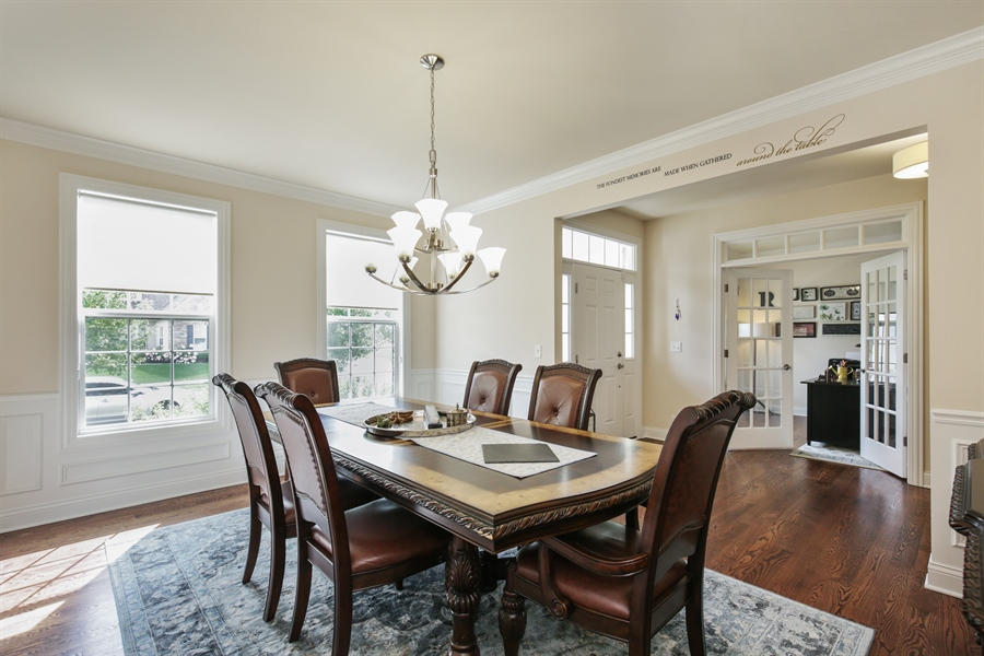 Real Estate Photography - 189 Trumpet Vine Cir., Elgin, IL, 60124 - Dining Area