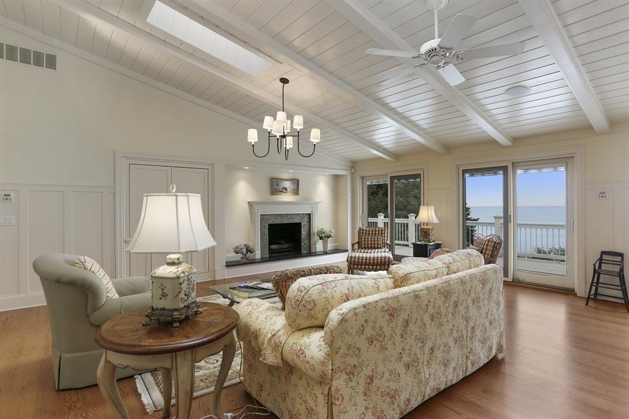 Real Estate Photography - 48013 Ridge Rd, New Buffalo, MI, 49117 - Living Room