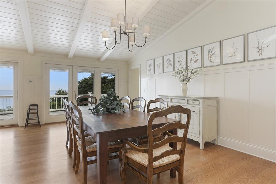 Real Estate Photography - 48013 Ridge Rd, New Buffalo, MI, 49117 - Dining Room