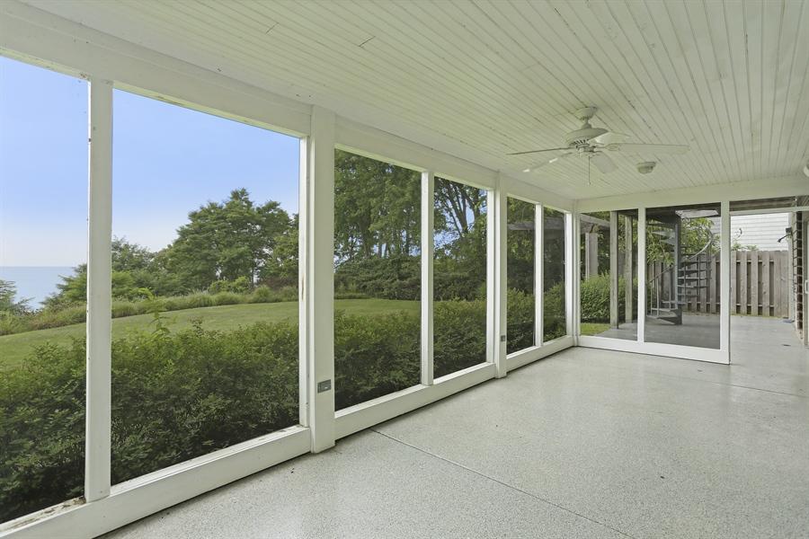 Real Estate Photography - 48013 Ridge Rd, New Buffalo, MI, 49117 - Porch