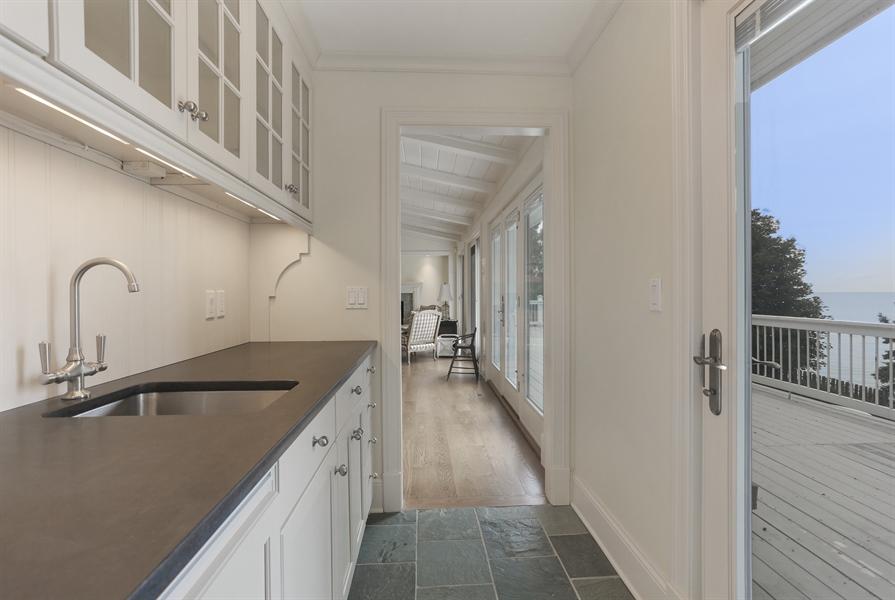 Real Estate Photography - 48013 Ridge Rd, New Buffalo, MI, 49117 - Bar