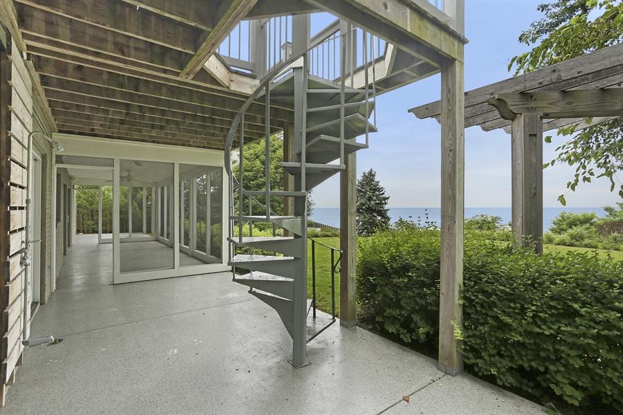 Real Estate Photography - 48013 Ridge Rd, New Buffalo, MI, 49117 - Patio