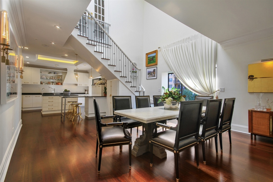 Real Estate Photography - 39 E Schiller Street, Unit 4W, Chicago, IL, 60610 - Dining Room