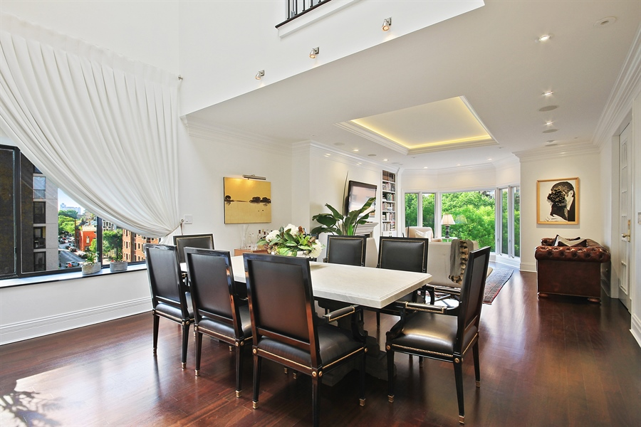 Real Estate Photography - 39 E Schiller Street, Unit 4W, Chicago, IL, 60610 - Dining Area