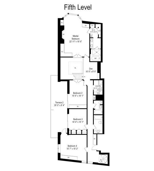 Real Estate Photography - 39 E Schiller Street, Unit 4W, Chicago, IL, 60610 - Second Level