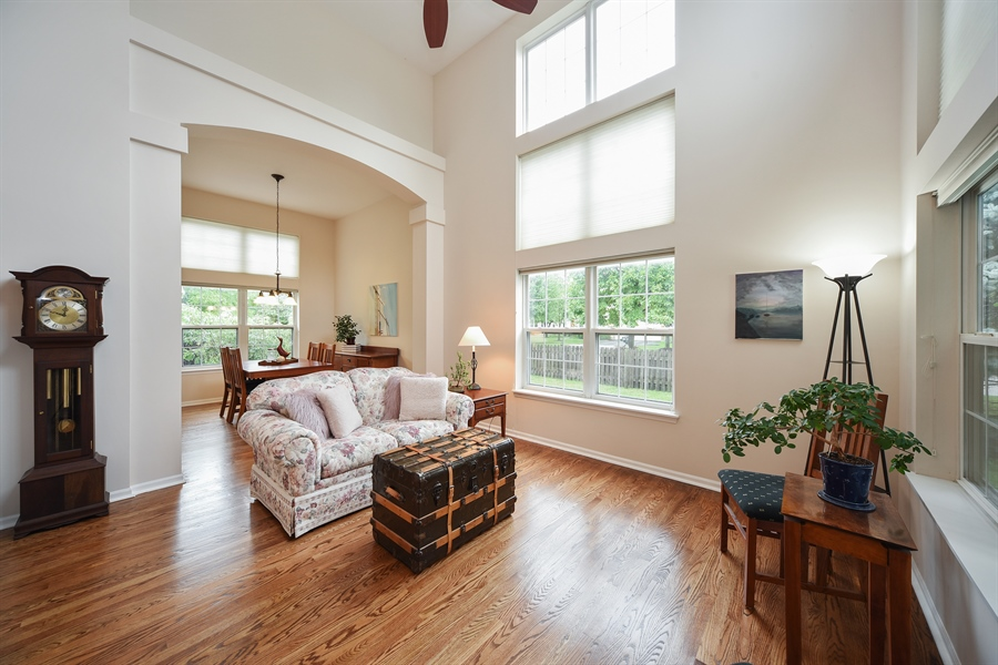 Real Estate Photography - 493 Gatewood Ln, Grayslake, IL, 60030 - Living Room