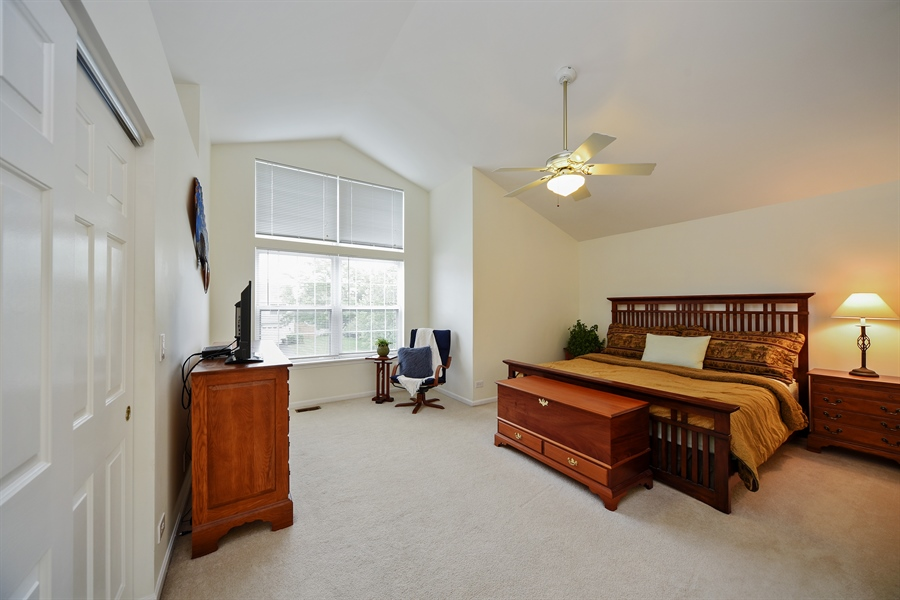 Real Estate Photography - 493 Gatewood Ln, Grayslake, IL, 60030 - Master Bedroom