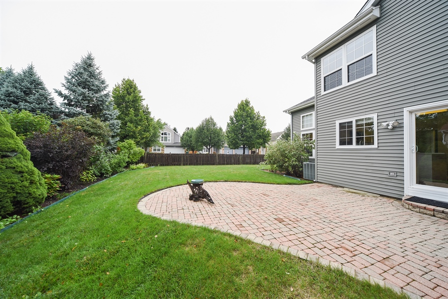 Real Estate Photography - 493 Gatewood Ln, Grayslake, IL, 60030 - Back Yard