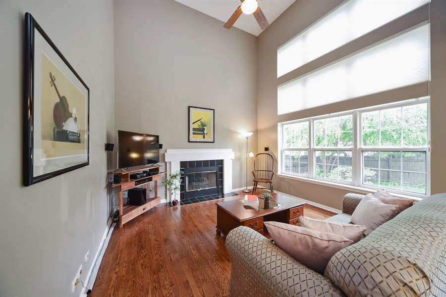 Real Estate Photography - 493 Gatewood Ln, Grayslake, IL, 60030 - Family Room