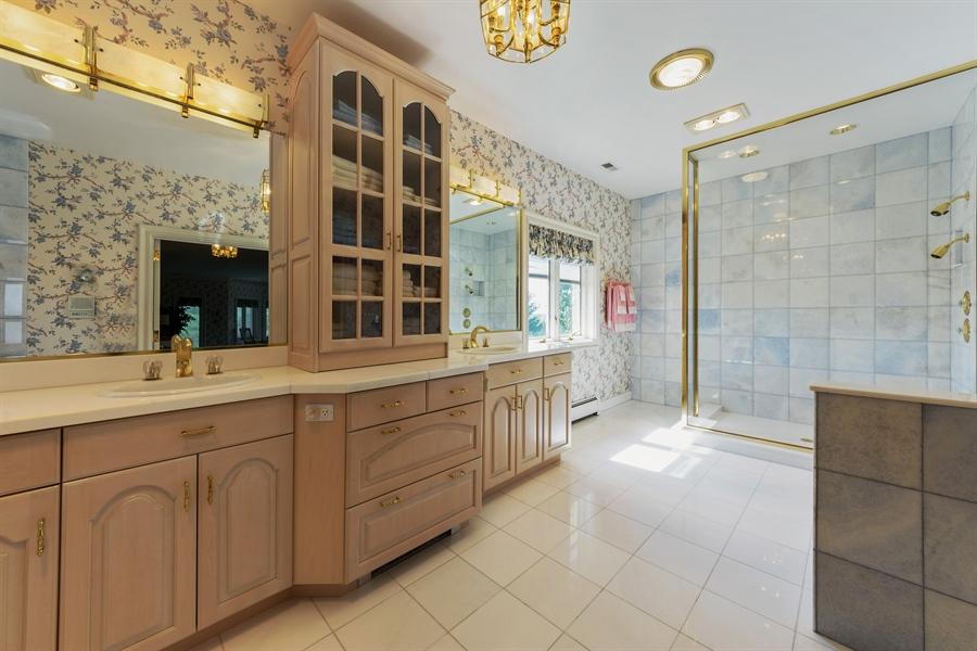 Real Estate Photography - 215 Dundee Rd, Barrington Hills, IL, 60010 - Master Bathroom