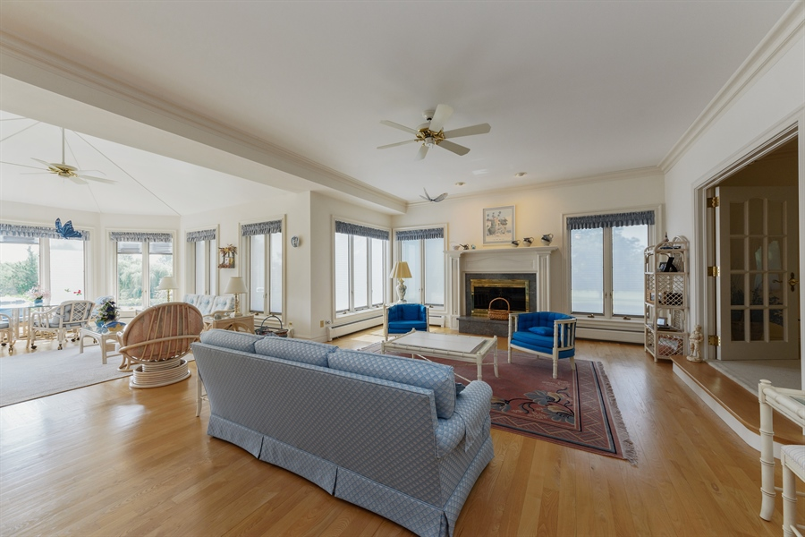 Real Estate Photography - 215 Dundee Rd, Barrington Hills, IL, 60010 - Family Room