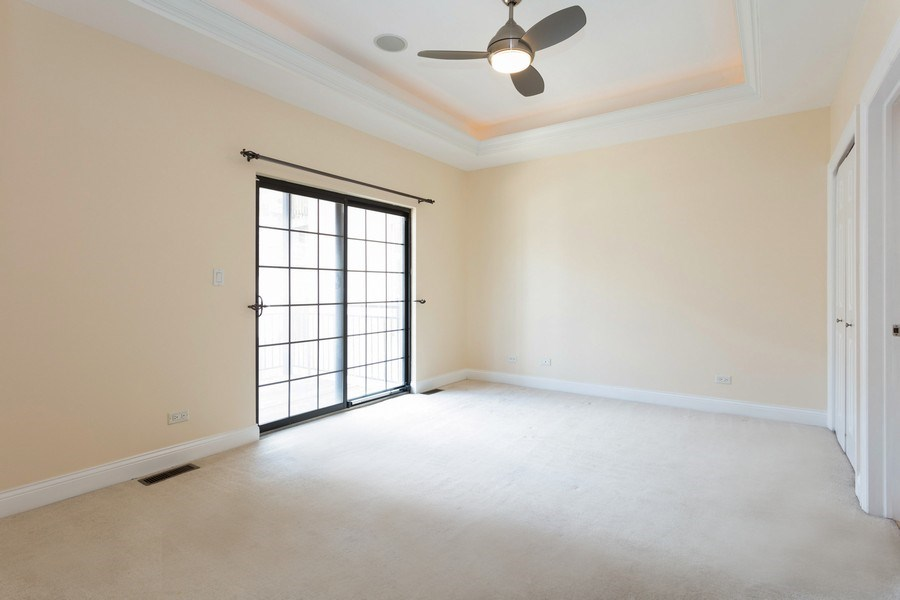Real Estate Photography - 1257 E 46th St., 101W, Chicago, IL, 60653 - Master Bedroom