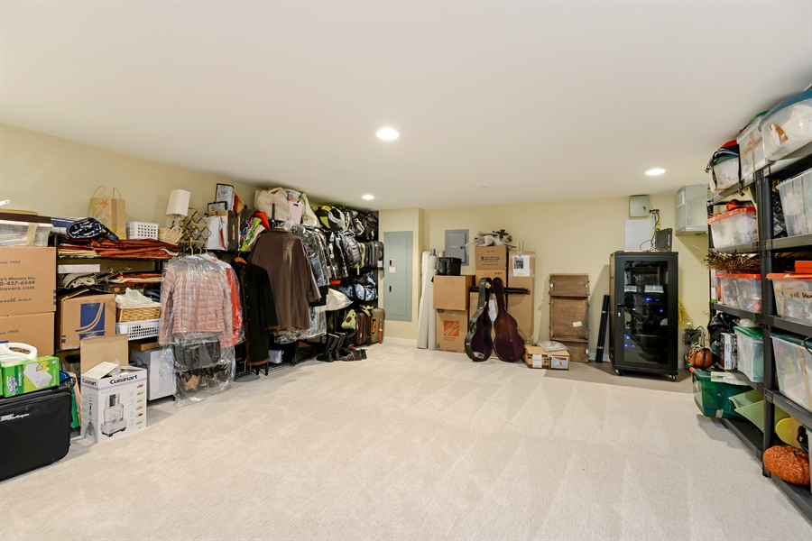 Real Estate Photography - 1133 Leonard Place, Evanston, IL, 60201 - Storage room