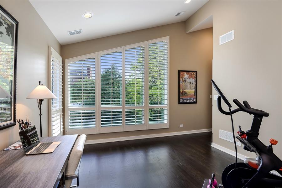 Real Estate Photography - 1133 Leonard Place, Evanston, IL, 60201 - Third Bedroom