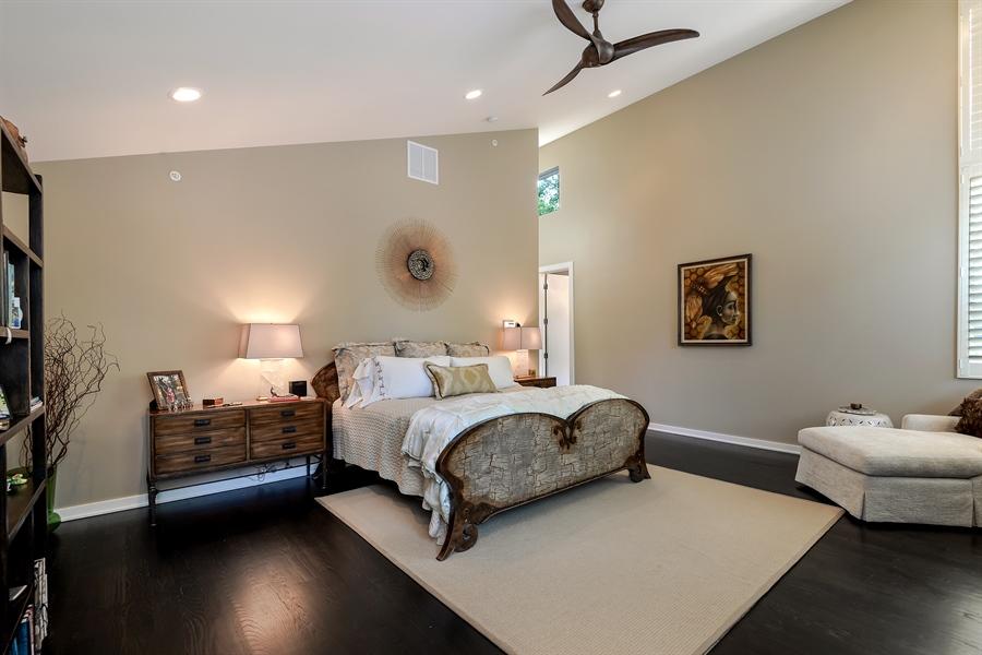 Real Estate Photography - 1133 Leonard Place, Evanston, IL, 60201 - Master Bedroom