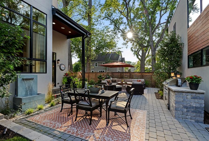 Real Estate Photography - 1133 Leonard Place, Evanston, IL, 60201 - Back Yard