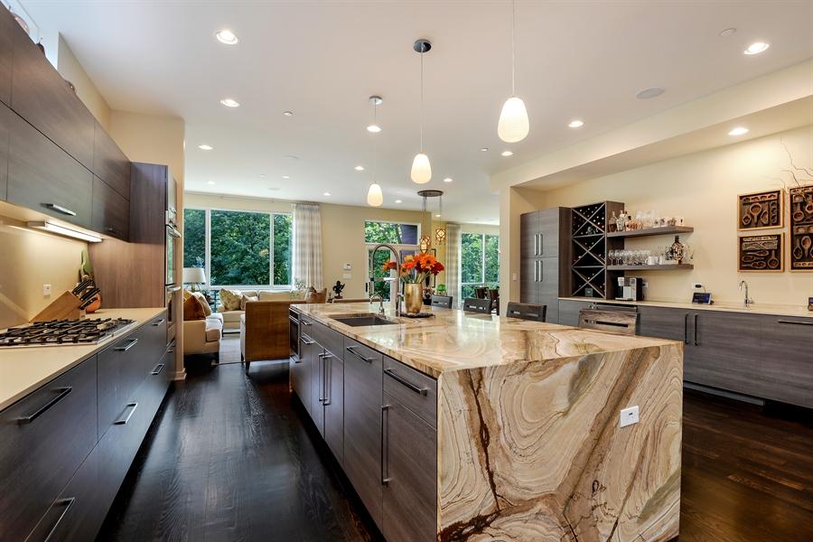 Real Estate Photography - 1133 Leonard Place, Evanston, IL, 60201 - Kitchen