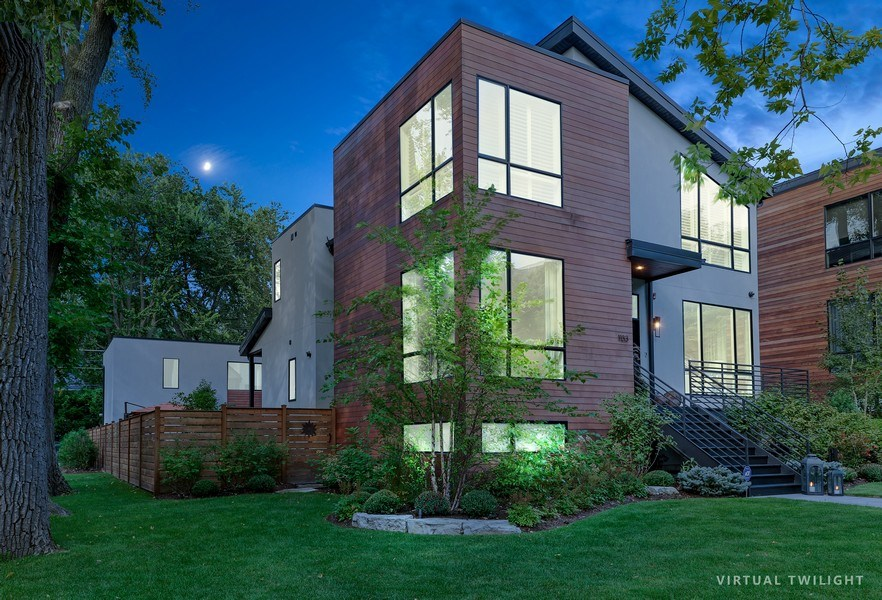 Real Estate Photography - 1133 Leonard Place, Evanston, IL, 60201 - Front View