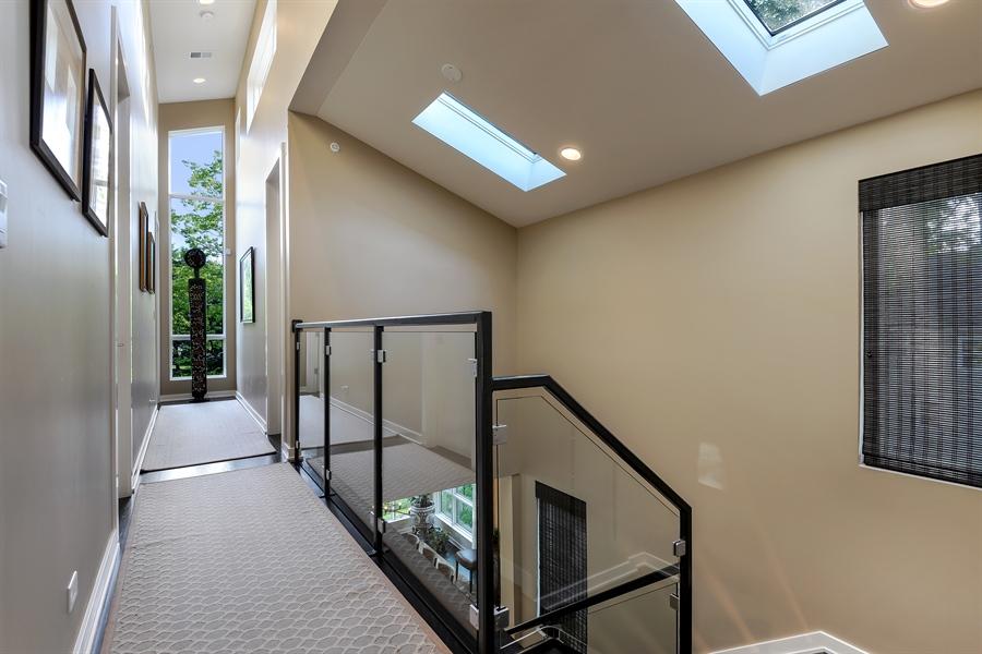 Real Estate Photography - 1133 Leonard Place, Evanston, IL, 60201 - Hallway
