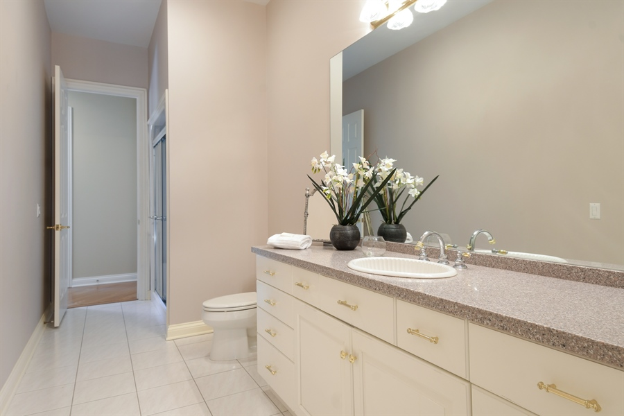 Real Estate Photography - 845 S Belmont Ave, Arlington Heights, IL, 60005 - 3rd Bathroom