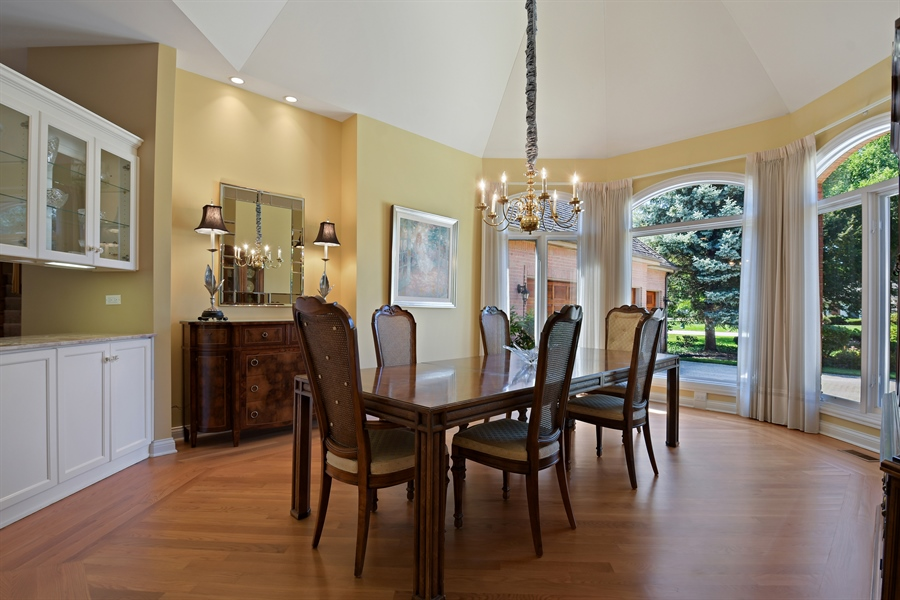 Real Estate Photography - 845 S Belmont Ave, Arlington Heights, IL, 60005 - Dining Room