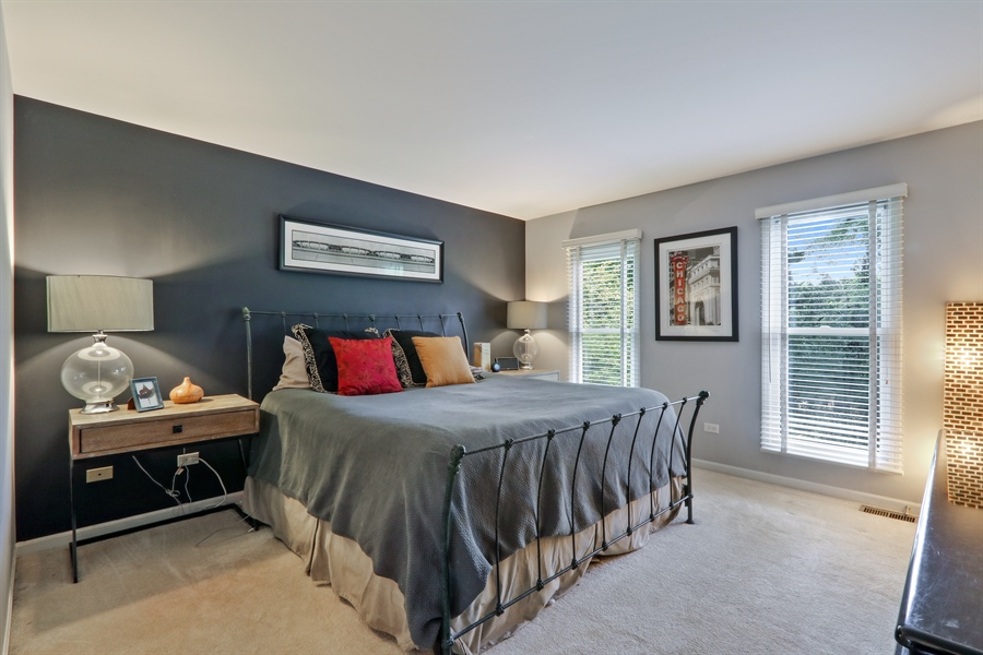 Real Estate Photography - 12390 W Quassey, Lake Bluff, IL, 60044 - Master Bedroom