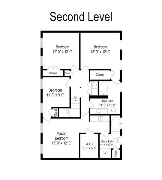 Real Estate Photography - 12390 W Quassey, Lake Bluff, IL, 60044 - Floor Plan