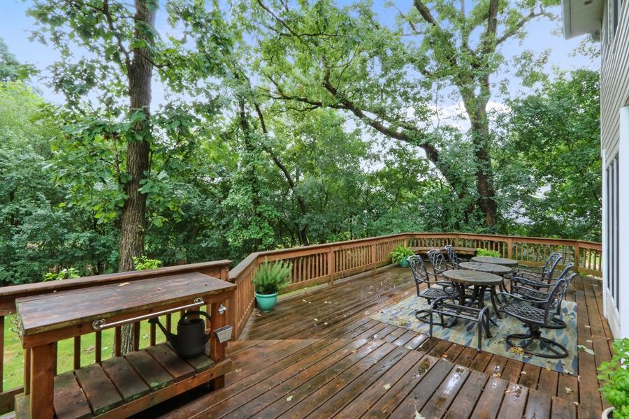 Real Estate Photography - 12390 W Quassey, Lake Bluff, IL, 60044 - Deck