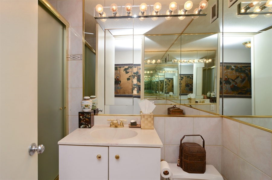 Real Estate Photography - 405 N Wabash, Unit 4404, Chicago, IL, 60611 - Bathroom