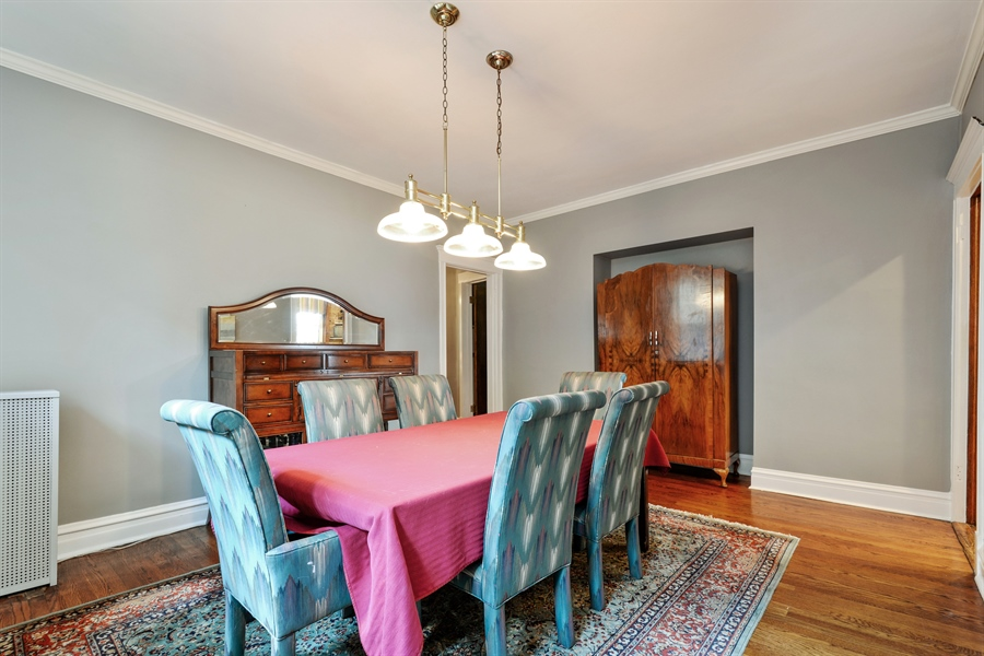 Real Estate Photography - 6221 N Magnolia Ave, 3S, Chicago, IL, 60660 - Dining Area
