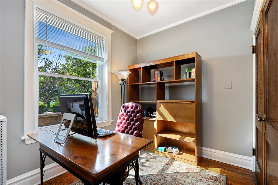 Real Estate Photography - 6221 N Magnolia Ave, 3S, Chicago, IL, 60660 - Office