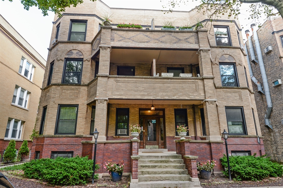 Real Estate Photography - 6221 N Magnolia Ave, 3S, Chicago, IL, 60660 - Front View