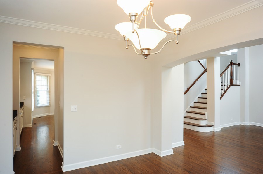 Real Estate Photography - 2100 Thistle Rd, Glenview, IL, 60026 - Dining Room