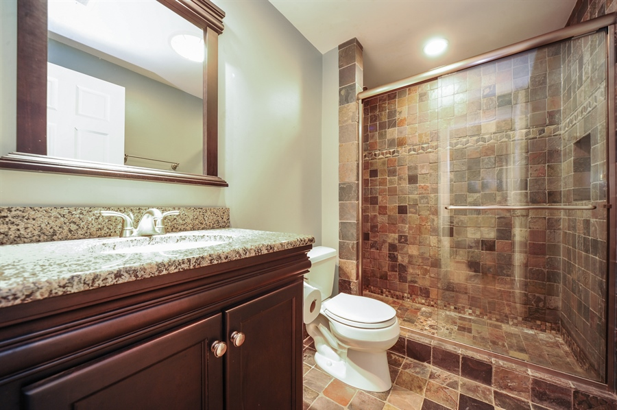Real Estate Photography - 2100 Thistle Rd, Glenview, IL, 60026 - 2nd Bathroom