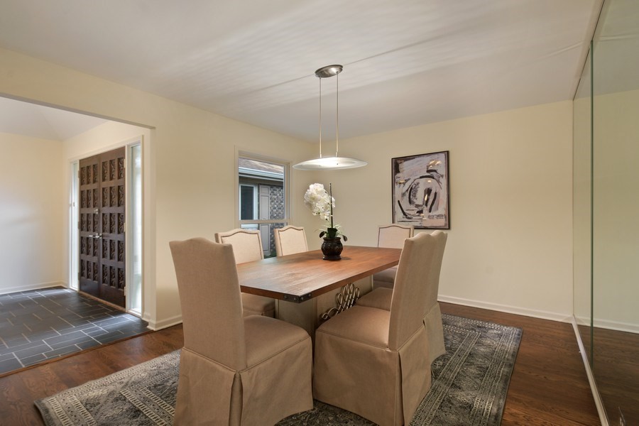Real Estate Photography - 880 North Ave, Deerfield, IL, 60015 - Dining Room