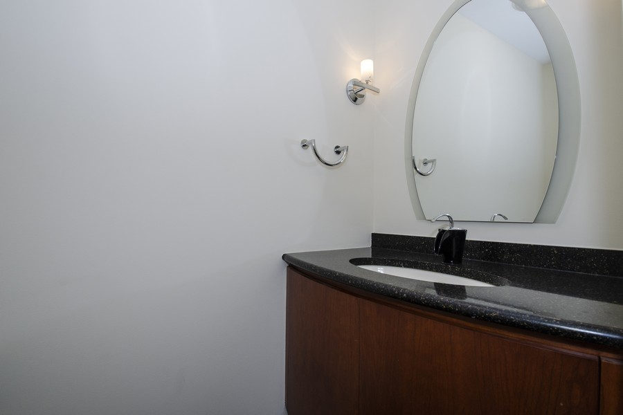 Real Estate Photography - 880 North Ave, Deerfield, IL, 60015 - Powder Room